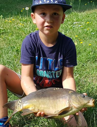 2019 07 28 Königsfischen Raphael Karpfen